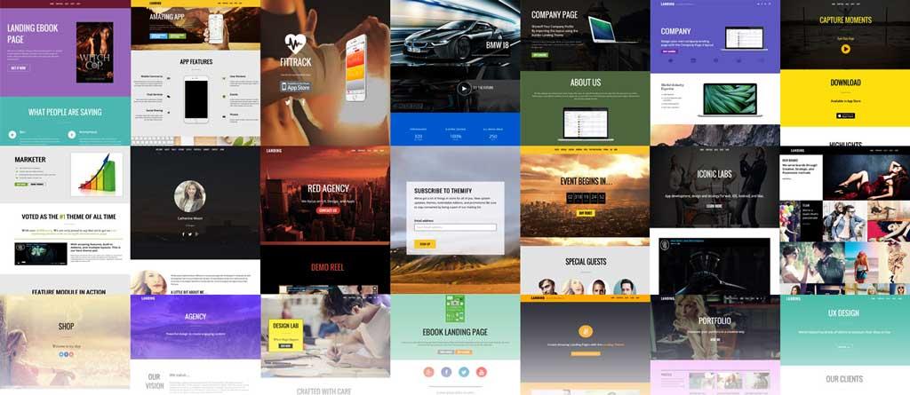 Themify Ultra WordPress Theme Pre-made Demos Layouts