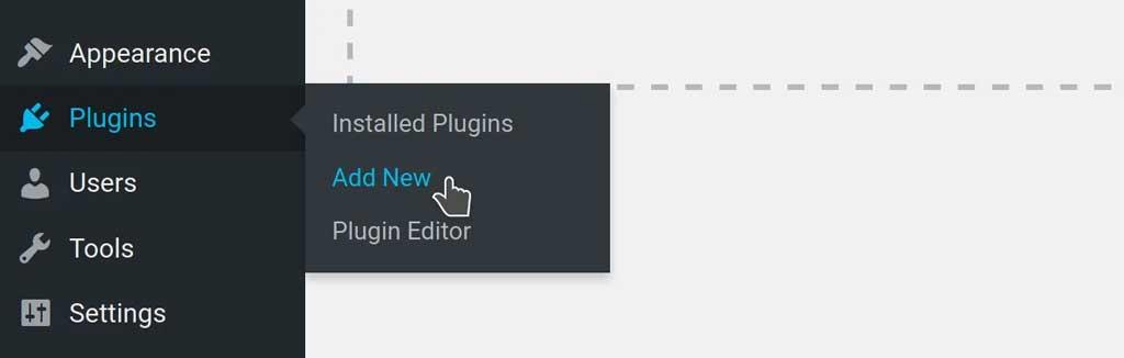 Add a new plugin on wordpress dashboard