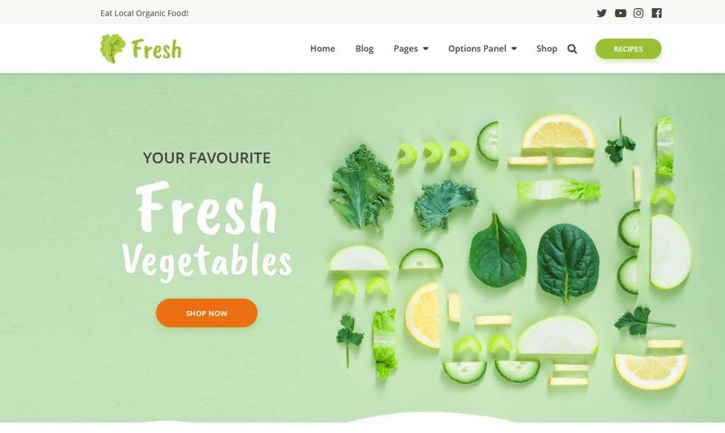 Fresh Theme MyThemeShop