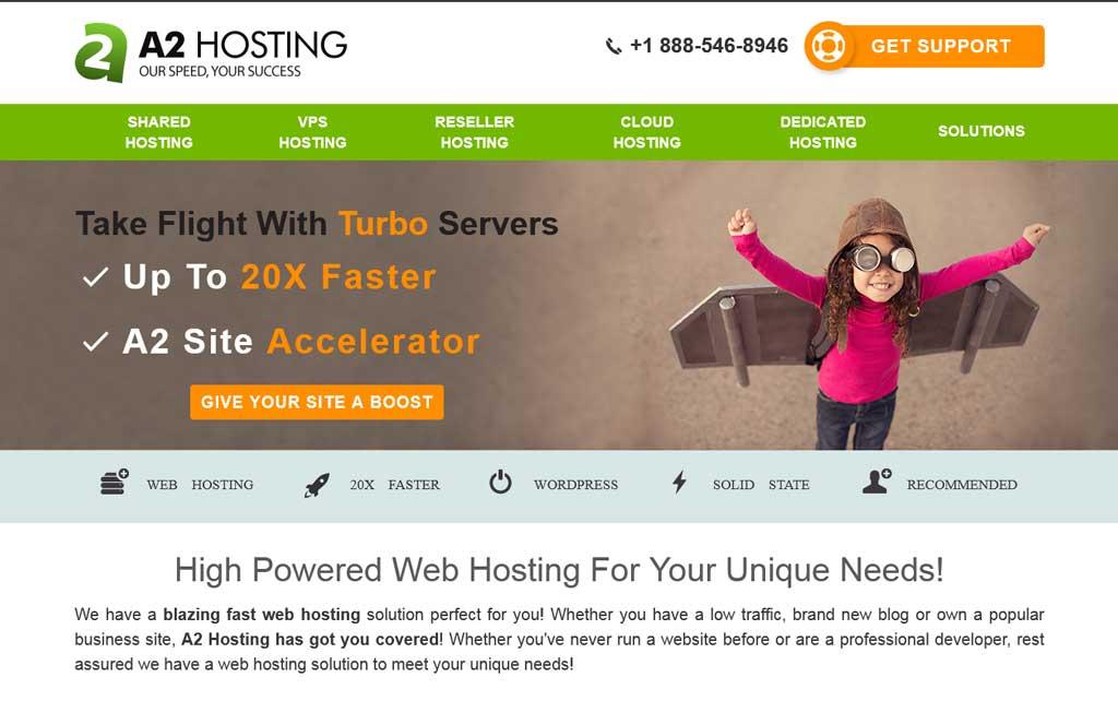 A2 Hosting Turbo Servers