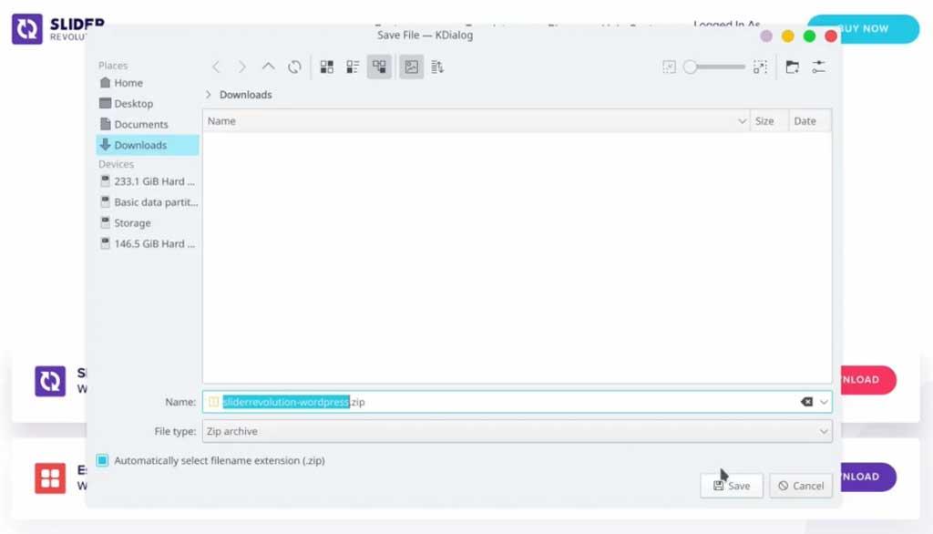 download revolution slider