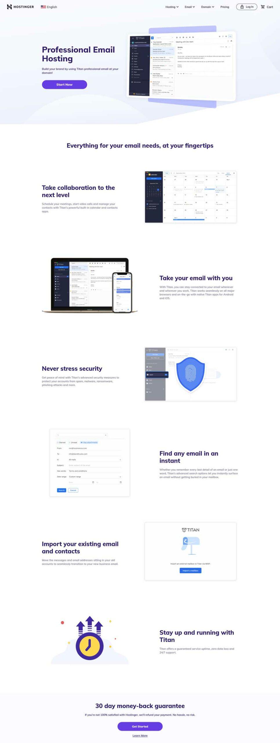 hostinger email