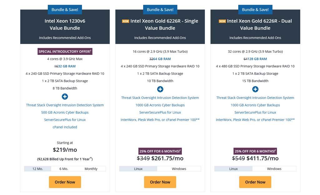 liquid-web-dedicated-server-pricing-bundle