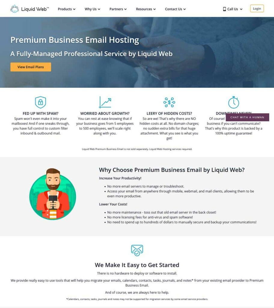 liquid web email