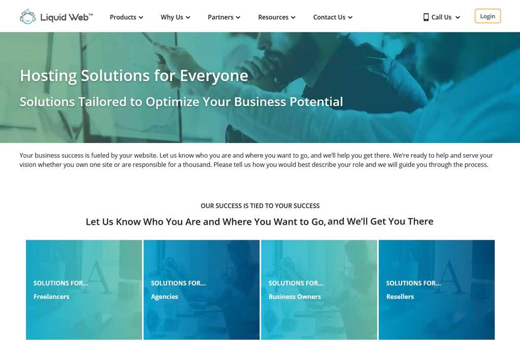 liquid web hosting solutions