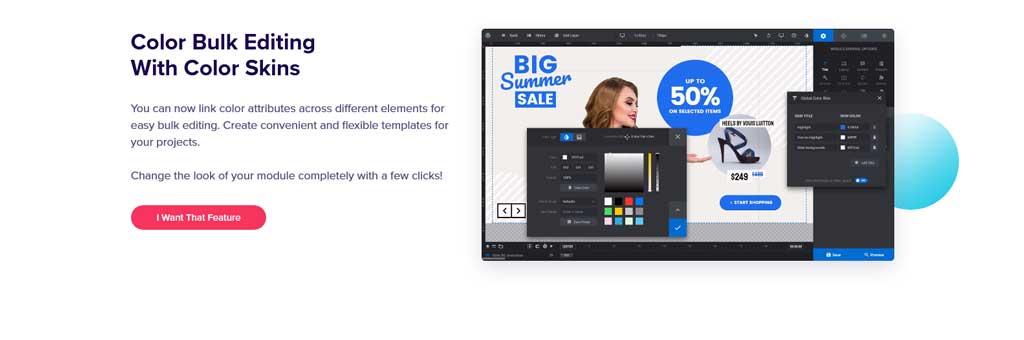 slider revolution bulk color edit