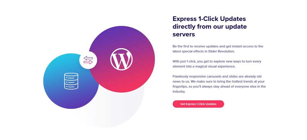 slider revolution express 1-click updates