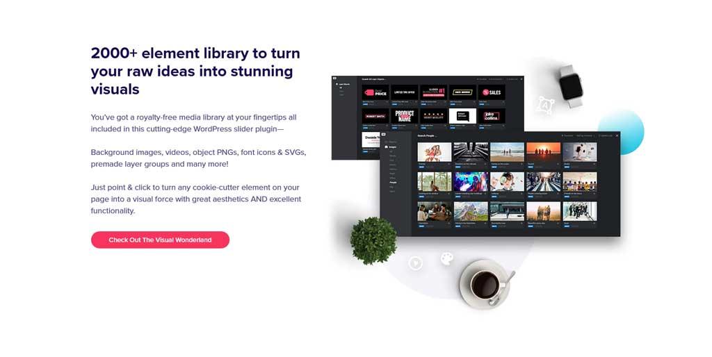 slider revolution media library